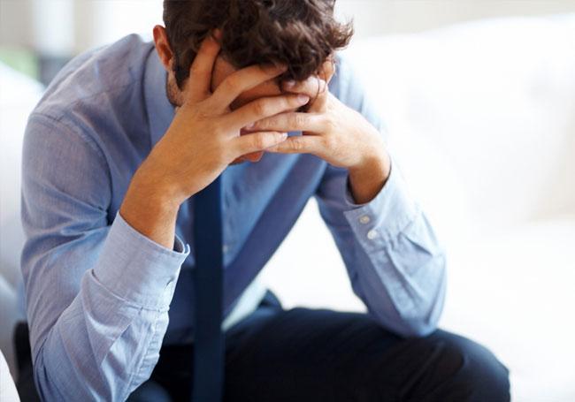 В современном мире мужчины подвержены частым стрессам