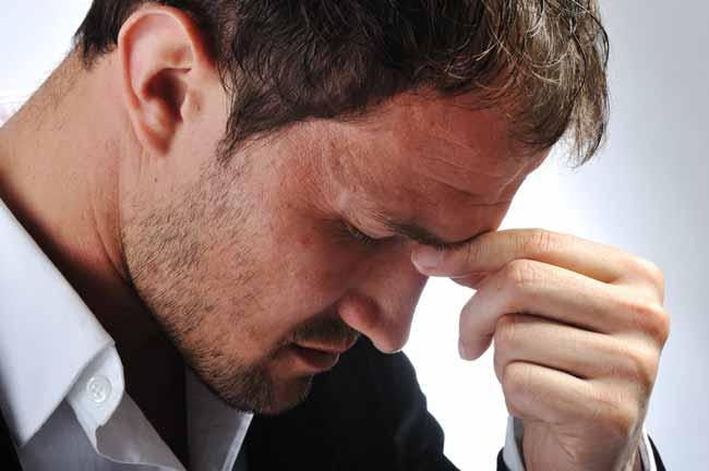 Мужчины очень тяжело переживают неудачи в интимной жизни