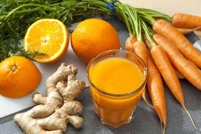 Морковь,имбирь для потенции