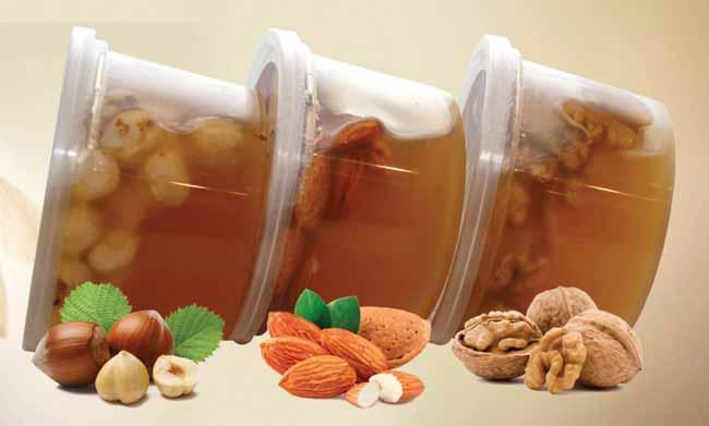 Горчичники, мед и орехи