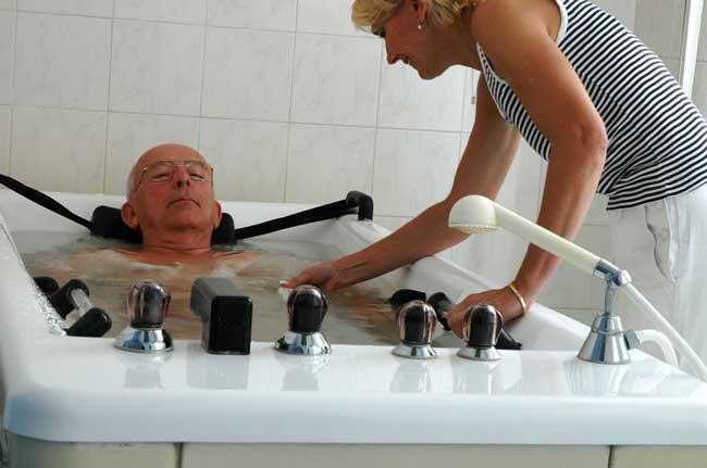 Терапия с помощью ванн