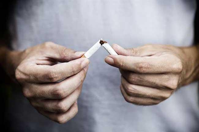 Полностью отказаться от  табакокурения