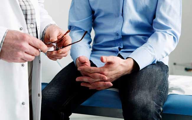 Массаж аденомы простаты у мужчин