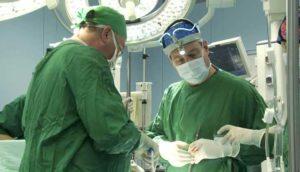 Гиперплазированную ткань удаляют лазером