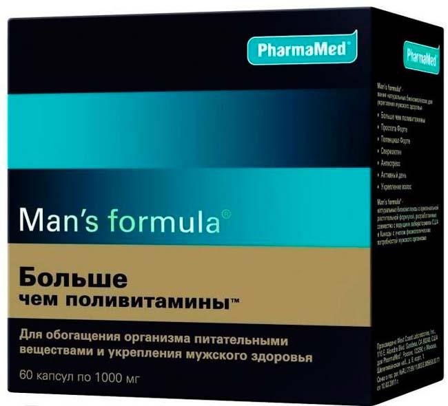 медикаментозные витамины для мужчин