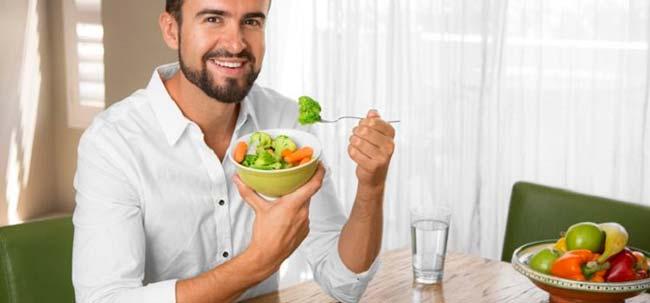 мужчины на диете