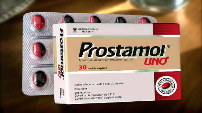 таблетки Простамол