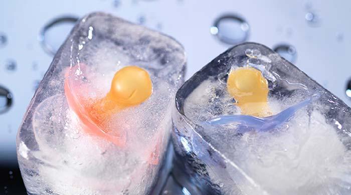 соски во льду