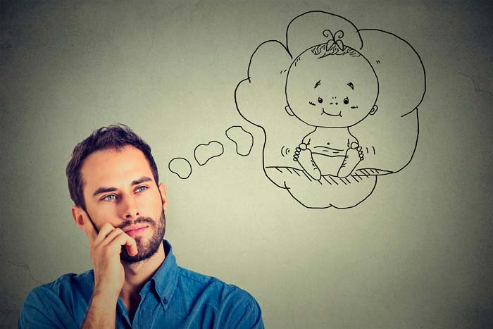 мужчина мечтает о ребенке