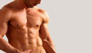 мужское тело