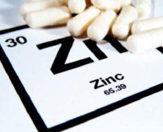 Применение препаратов цинка