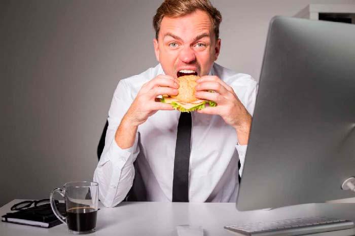 геморрой и вредная еда